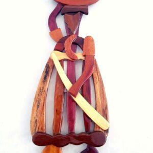 houten koto misi van uit suriname