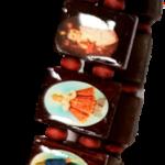Religieuze armband- Bruin