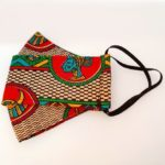 Africanprint Mondkapje af03